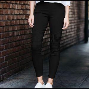 Evolving Always Pants - New Black Moto Jeggings